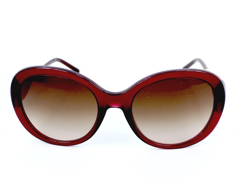 lunettes de soleil burberry be 4191 3014 13 bordeaux pas cher visionet. Black Bedroom Furniture Sets. Home Design Ideas