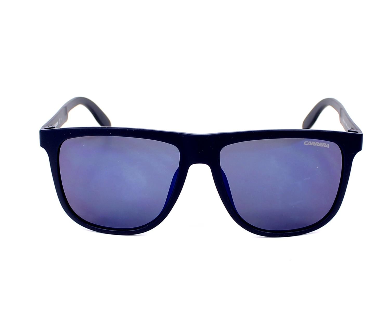 a66ac8223e13c Lunettes de soleil Carrera 5003-ST KRW XT 57-16 Bleu vue de