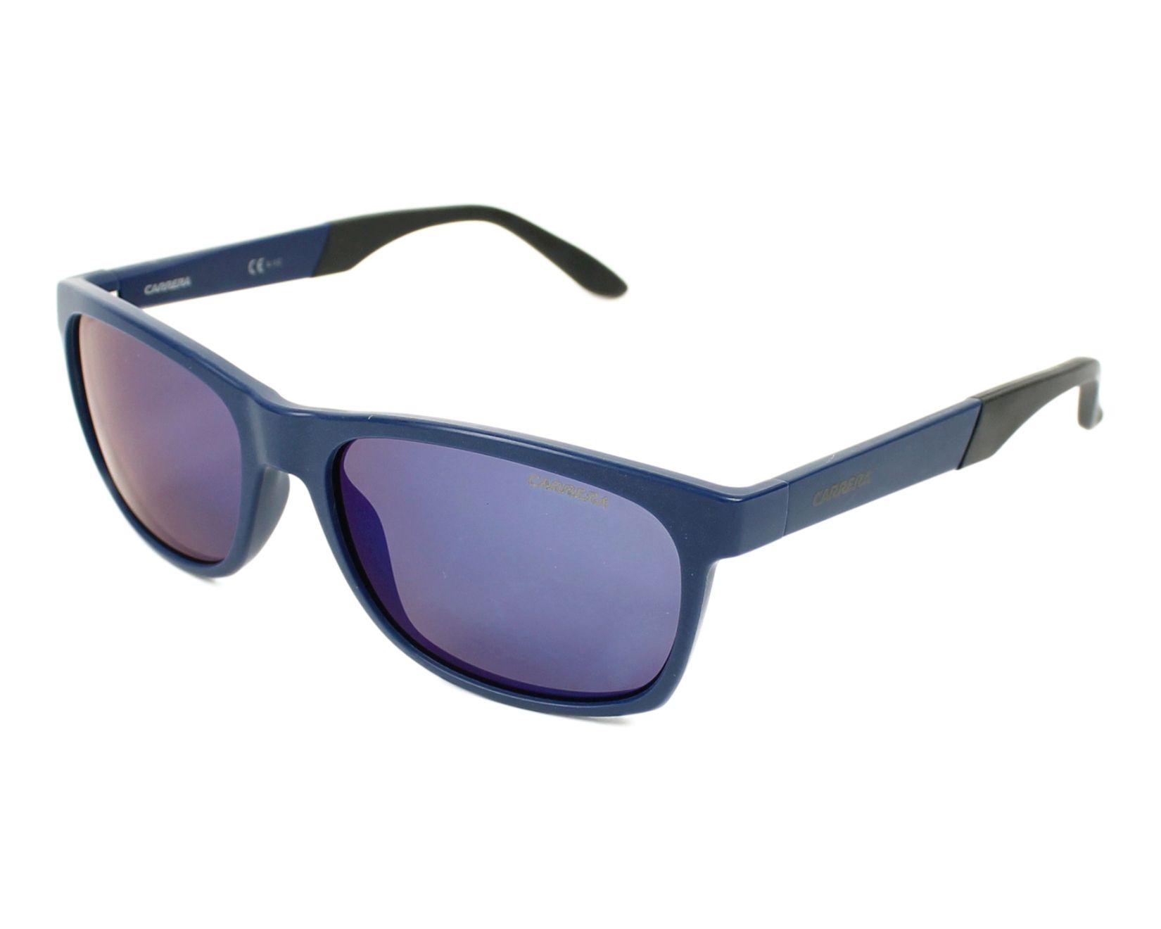 lunettes de soleil carrera 8021 s 04o 5x bleu avec des verres gris. Black Bedroom Furniture Sets. Home Design Ideas