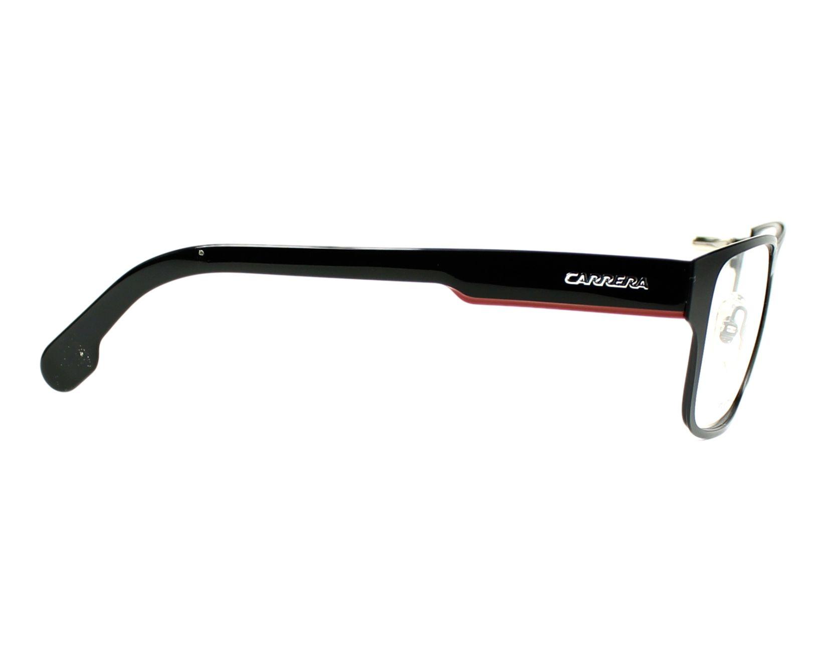 ab19148356 thumbnail Carrera CA-1100-V 003 55-18 Black Red side view
