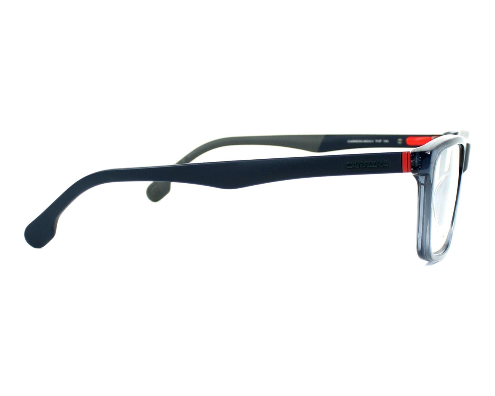 2fa899ff9a4ed Carrera Eyeglasses CA 8824 V PJP Blue Visionet