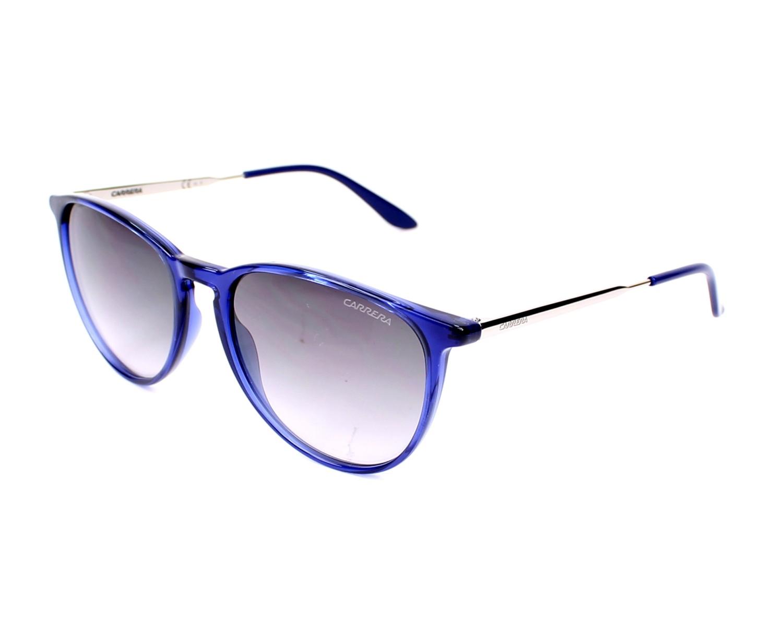 lunettes de soleil carrera carrera 5030 s qvw 9c violet avec des verres gris pour femmes. Black Bedroom Furniture Sets. Home Design Ideas