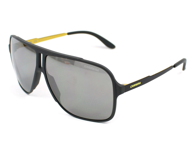 lunettes de soleil carrera carrera 122 s vov t4 gris avec des verres gris. Black Bedroom Furniture Sets. Home Design Ideas