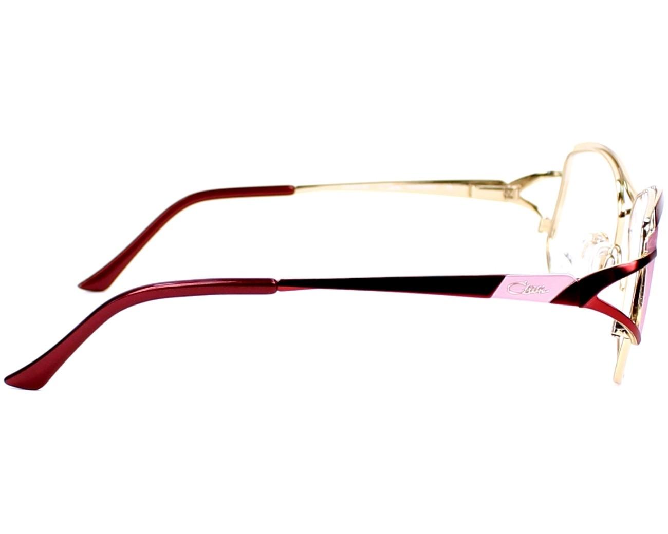 Cazal eyeglasses 1083 003 red visionet for 1083 3