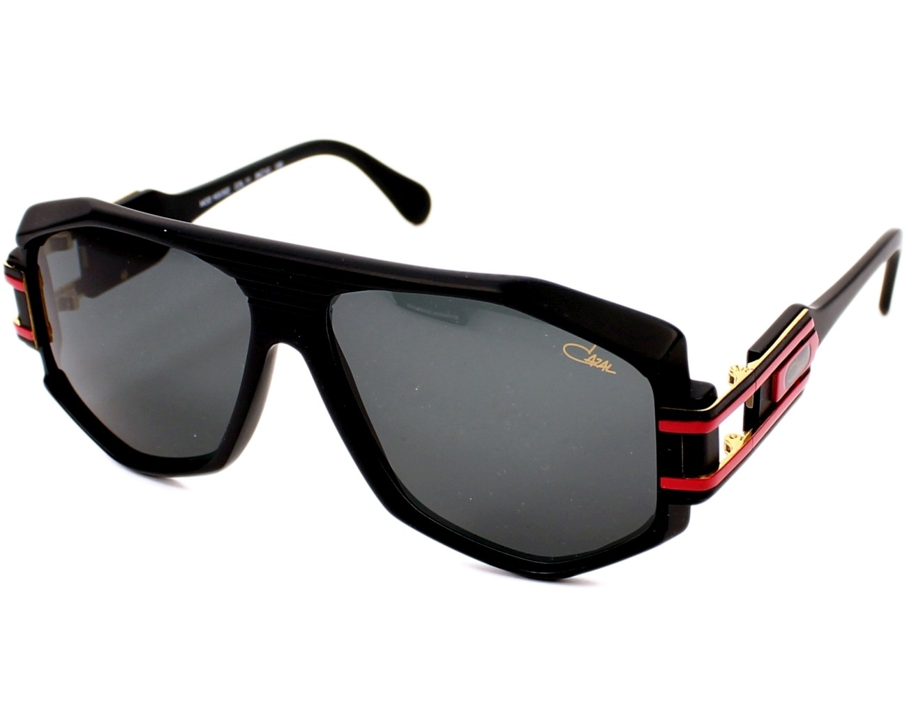 lunettes de soleil cazal 163 3 011 noir avec des verres. Black Bedroom Furniture Sets. Home Design Ideas