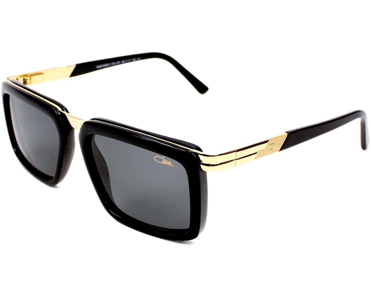 lunettes de soleil cazal 6006 3 001 noir avec des verres gris pour mixte. Black Bedroom Furniture Sets. Home Design Ideas