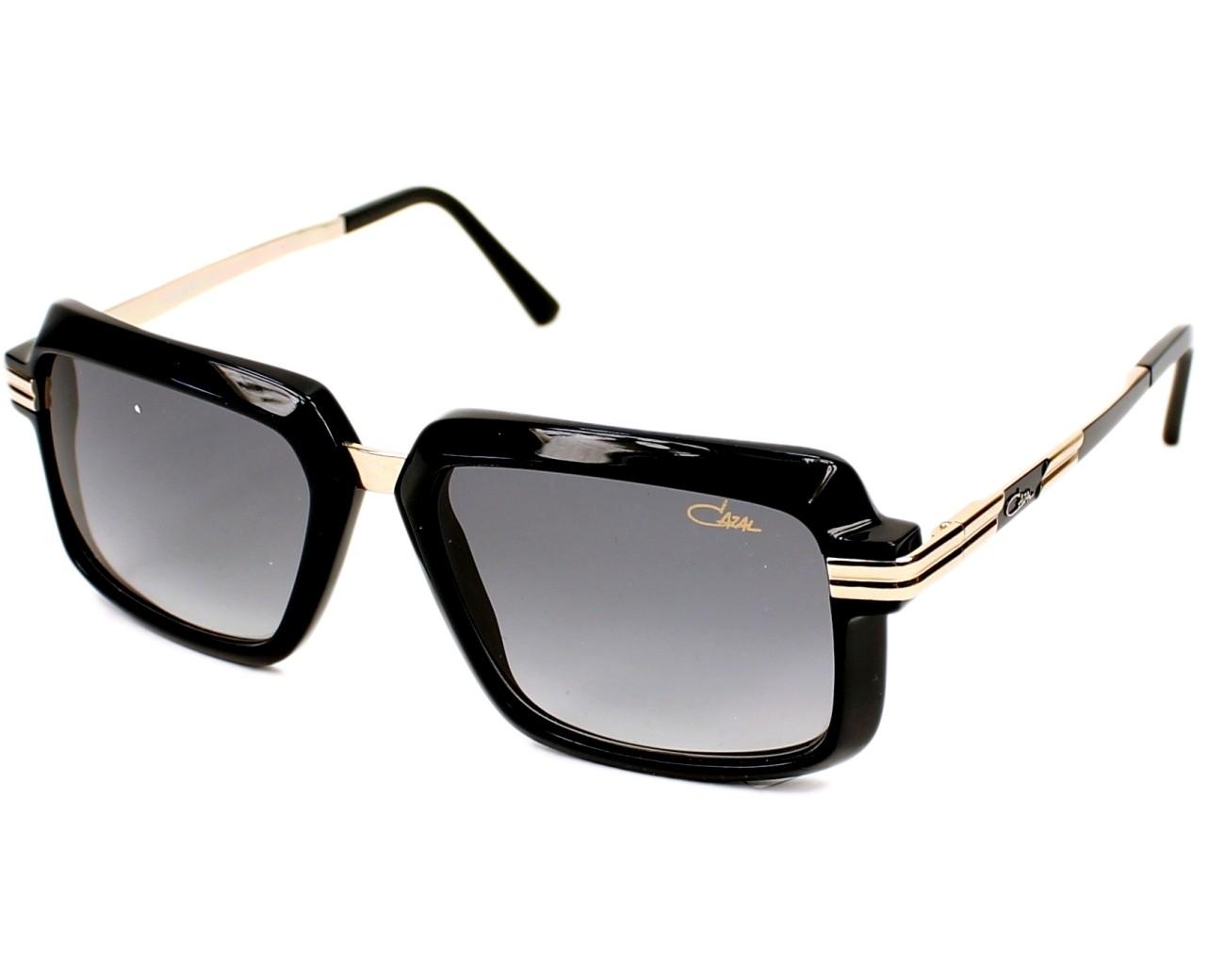lunettes de soleil cazal 6009 3 001 noir avec des verres. Black Bedroom Furniture Sets. Home Design Ideas