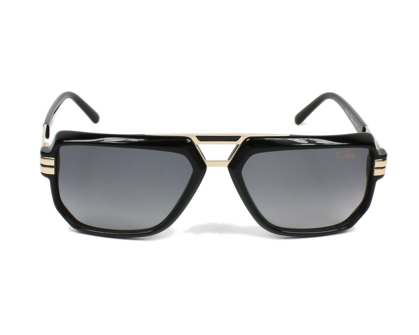 lunettes de soleil cazal 6013 3 001 noir avec des verres gris. Black Bedroom Furniture Sets. Home Design Ideas