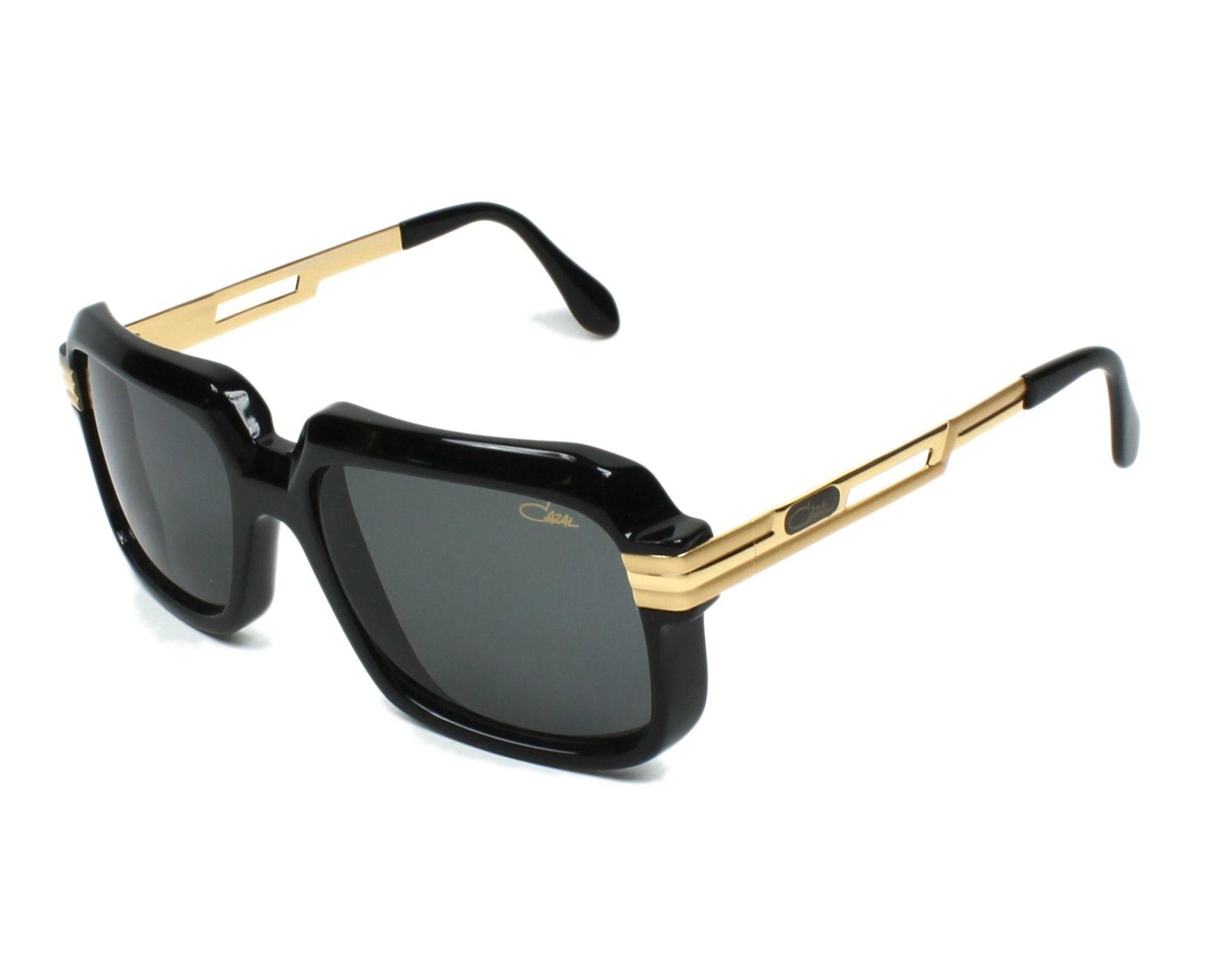 lunettes de soleil cazal 607 2 3 001 noir avec des verres. Black Bedroom Furniture Sets. Home Design Ideas