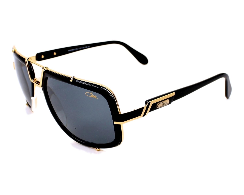 lunettes de soleil cazal 656 3 001 noir avec des verres gris. Black Bedroom Furniture Sets. Home Design Ideas