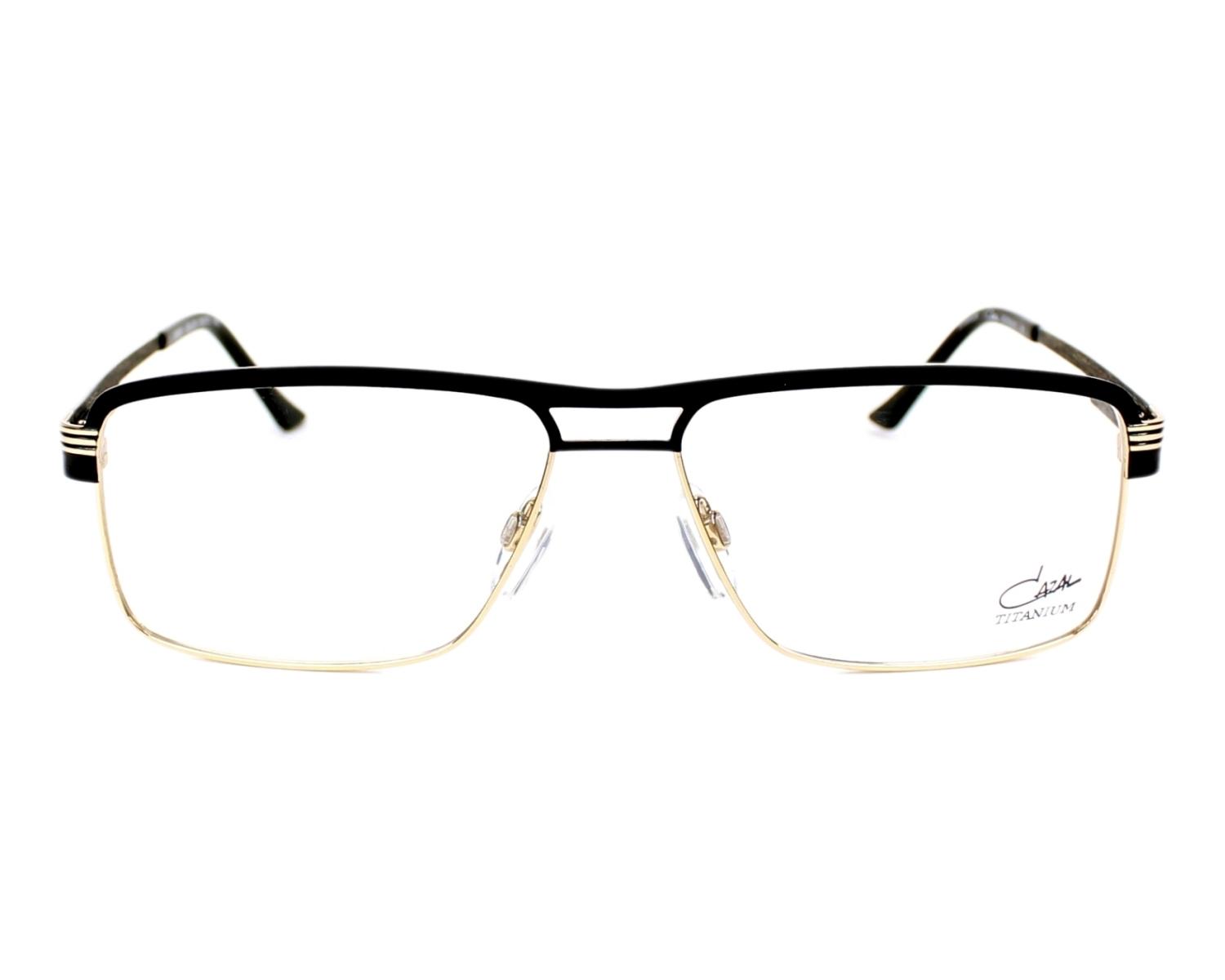 Lunettes de vue Cazal 7057 001 - Noir Or vue de face 4db611eaf893