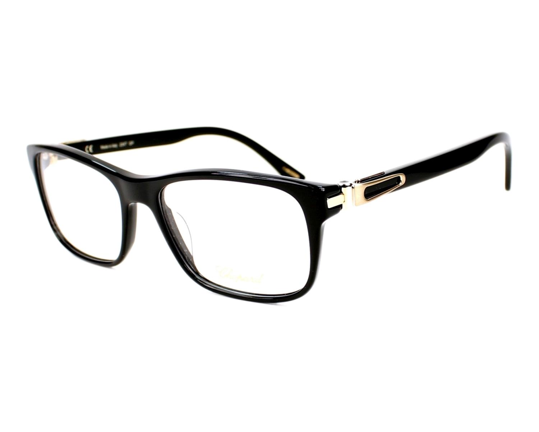 Lunettes de vue Chopard VCH-145 0700 - Noir Or vue de profil 7f0ee795ea99