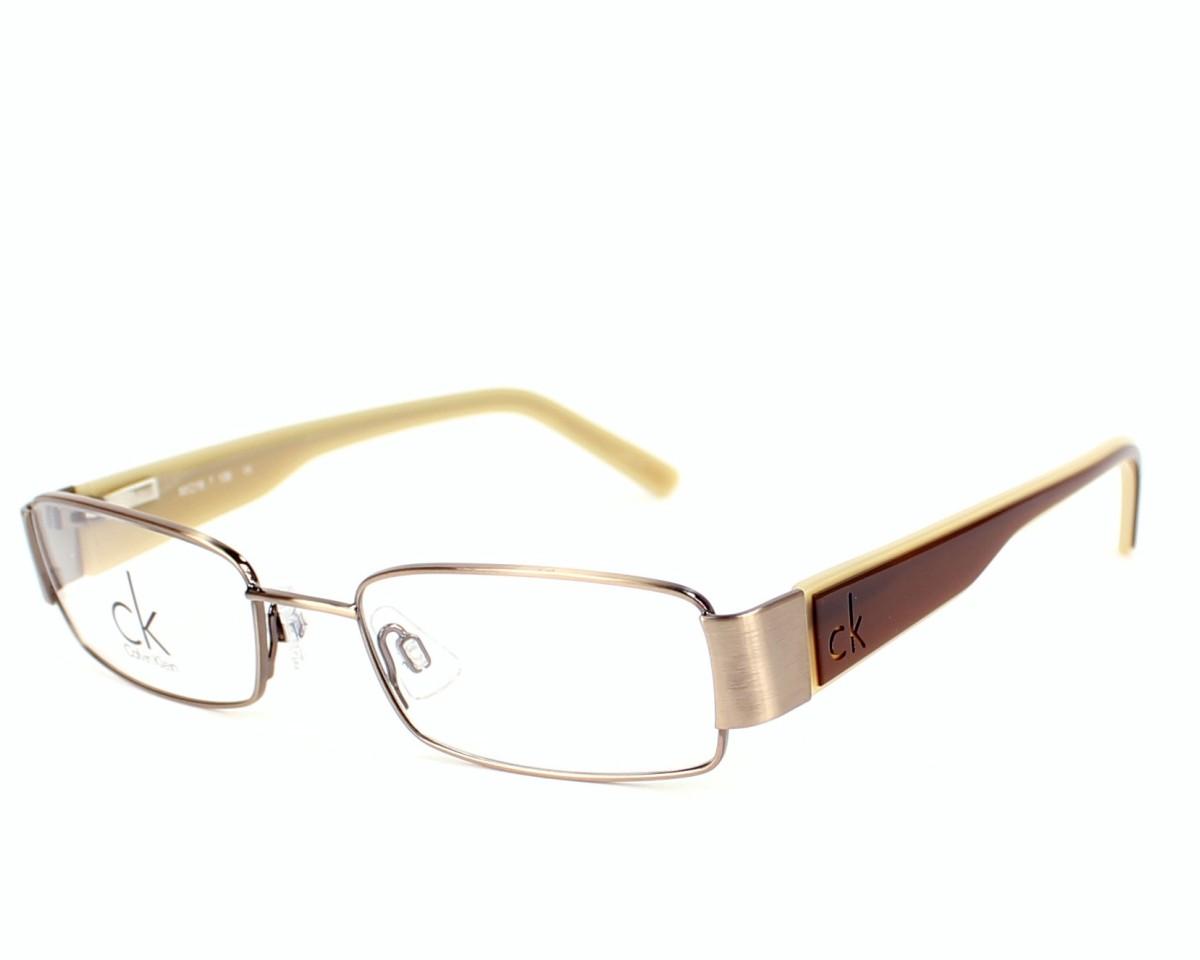 lunettes de vue calvin klein ck 5218 250 marron monture mixte. Black Bedroom Furniture Sets. Home Design Ideas