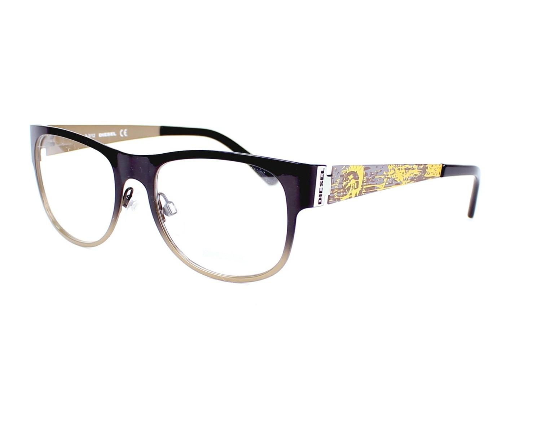 lunettes de vue diesel dl 5026 005 noir monture mixte. Black Bedroom Furniture Sets. Home Design Ideas