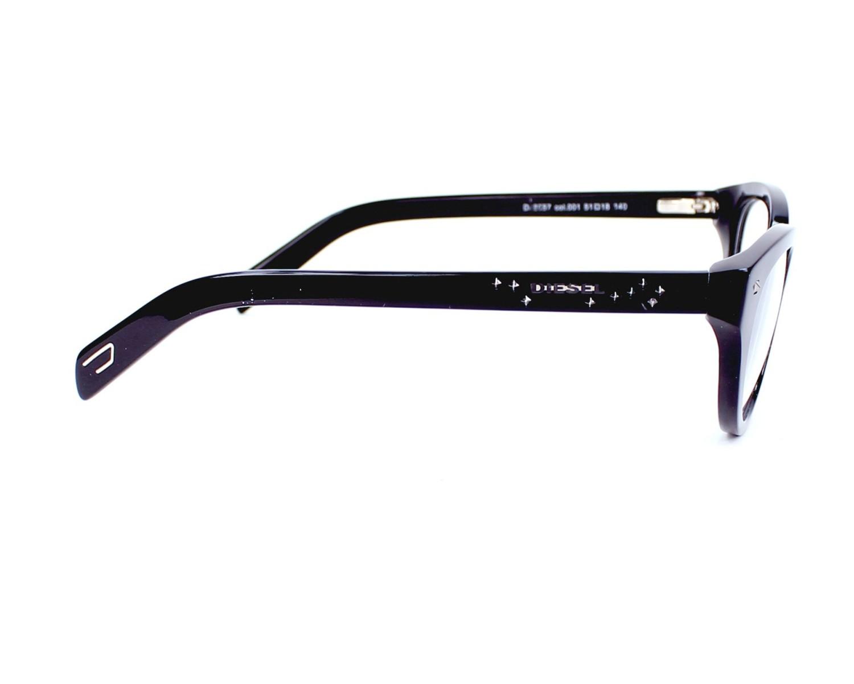 lunettes de vue de diesel en dl 5057 001. Black Bedroom Furniture Sets. Home Design Ideas