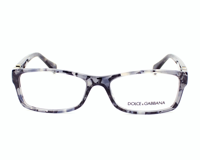 Lunettes de vue Dolce   Gabbana DG-3228 2654 - Gris vue de face d525ae6bf41d
