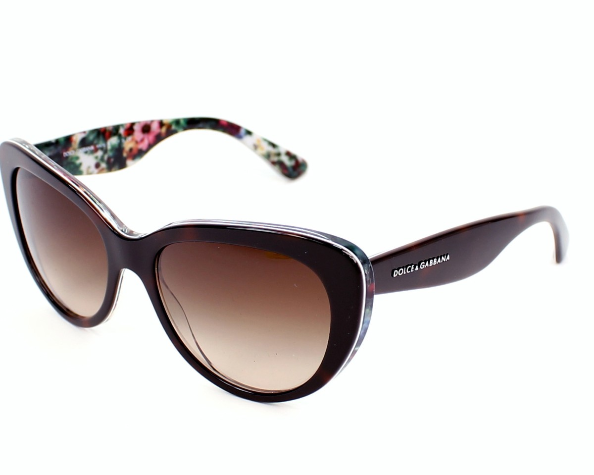 Dolce & Gabbana Sunglasses DG-4189 2781/13 Brown ...
