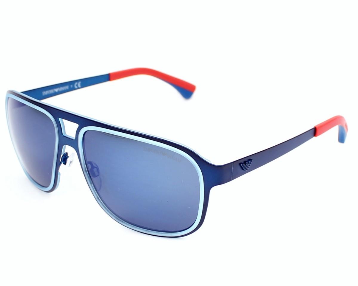 7189ce6cd62371 Lunettes de soleil Emporio Armani EA-2012 3042 96 - Bleu Orange vue de