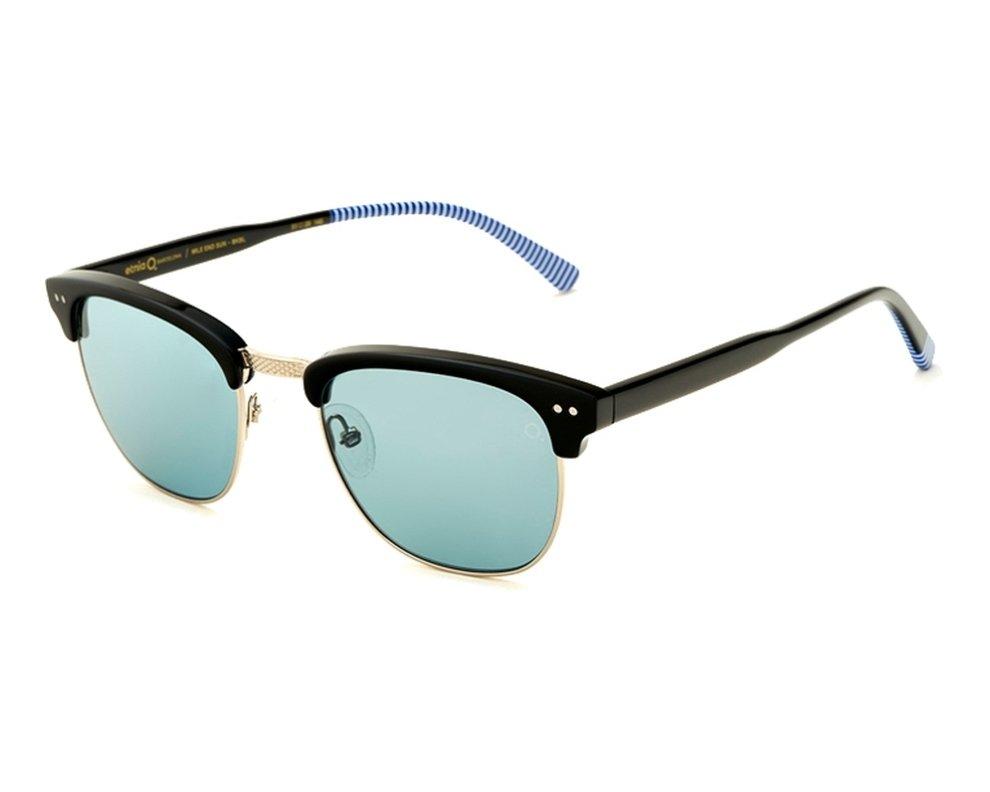 lunettes de soleil etnia barcelona mileend bkbl noir avec des verres bleu gris. Black Bedroom Furniture Sets. Home Design Ideas