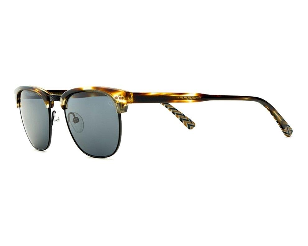 Lunettes de soleil etnia barcelona mileend hvbk havane avec des verres gris pour mixte - Verre lunette raye assurance ...