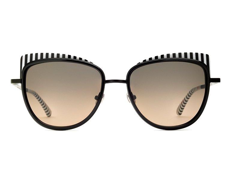lunettes de soleil etnia barcelona yaletown bkwh noir avec des verres gris. Black Bedroom Furniture Sets. Home Design Ideas