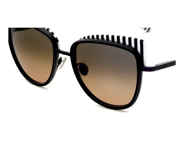 Lunettes de soleil etnia barcelona yaletown bkwh noir avec des verres gris - Verre lunette raye assurance ...