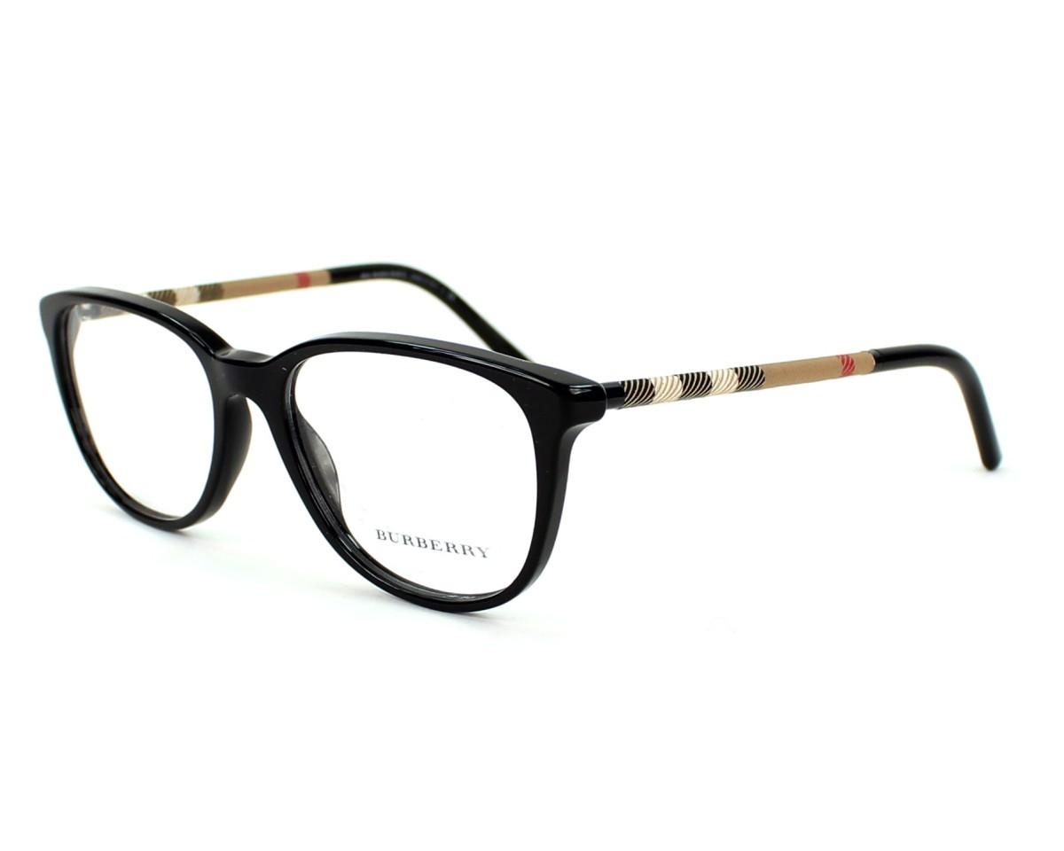 804501e27e Lunettes de vue Burberry BE-2112 3001 - Noir vue de profil