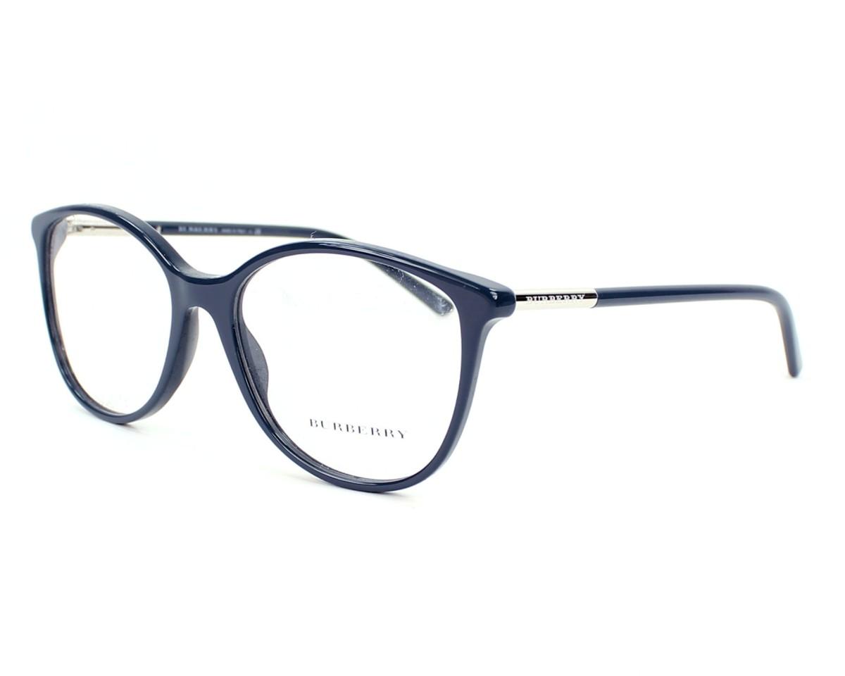 Lunettes de vue Burberry BE-2128 3355 - Bleu vue de profil 039e17390abb