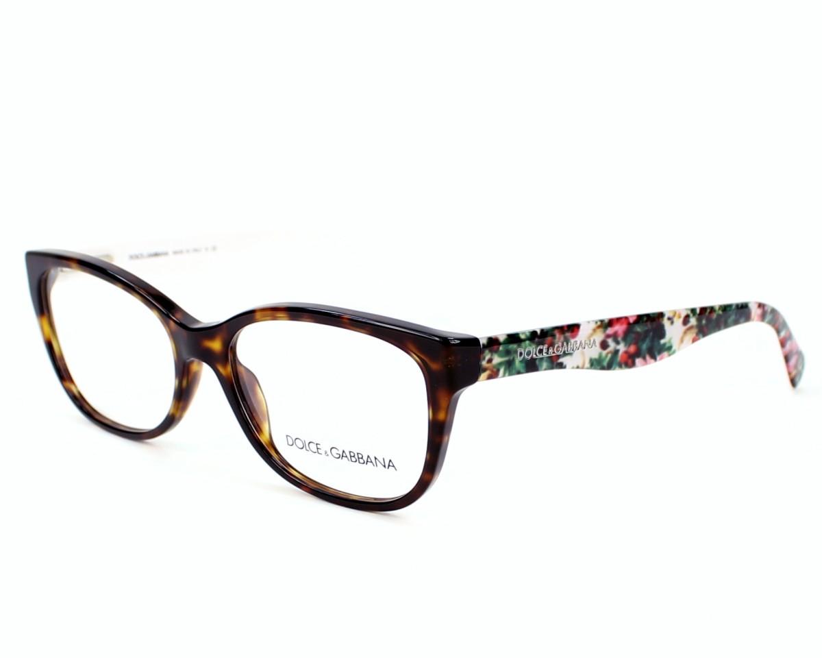 lunettes de vue de dolce gabbana en dg 3136 2783