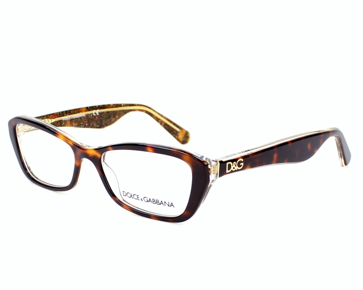 lunettes de vue dolce gabbana dg 3168 2738 51 visionet. Black Bedroom Furniture Sets. Home Design Ideas