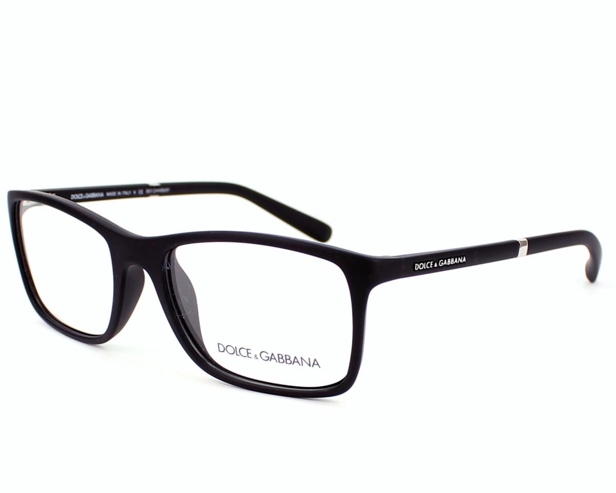 528144a6fdbb8f Lunettes de vue Dolce   Gabbana DG-5004 2616 - Noir vue de profil