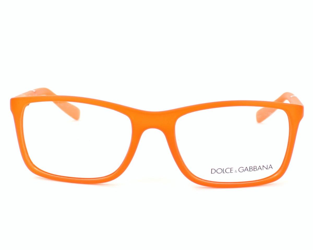 f28011f9e8a8f Lunettes de vue Dolce   Gabbana DG-5004 2752 - Orange vue de face