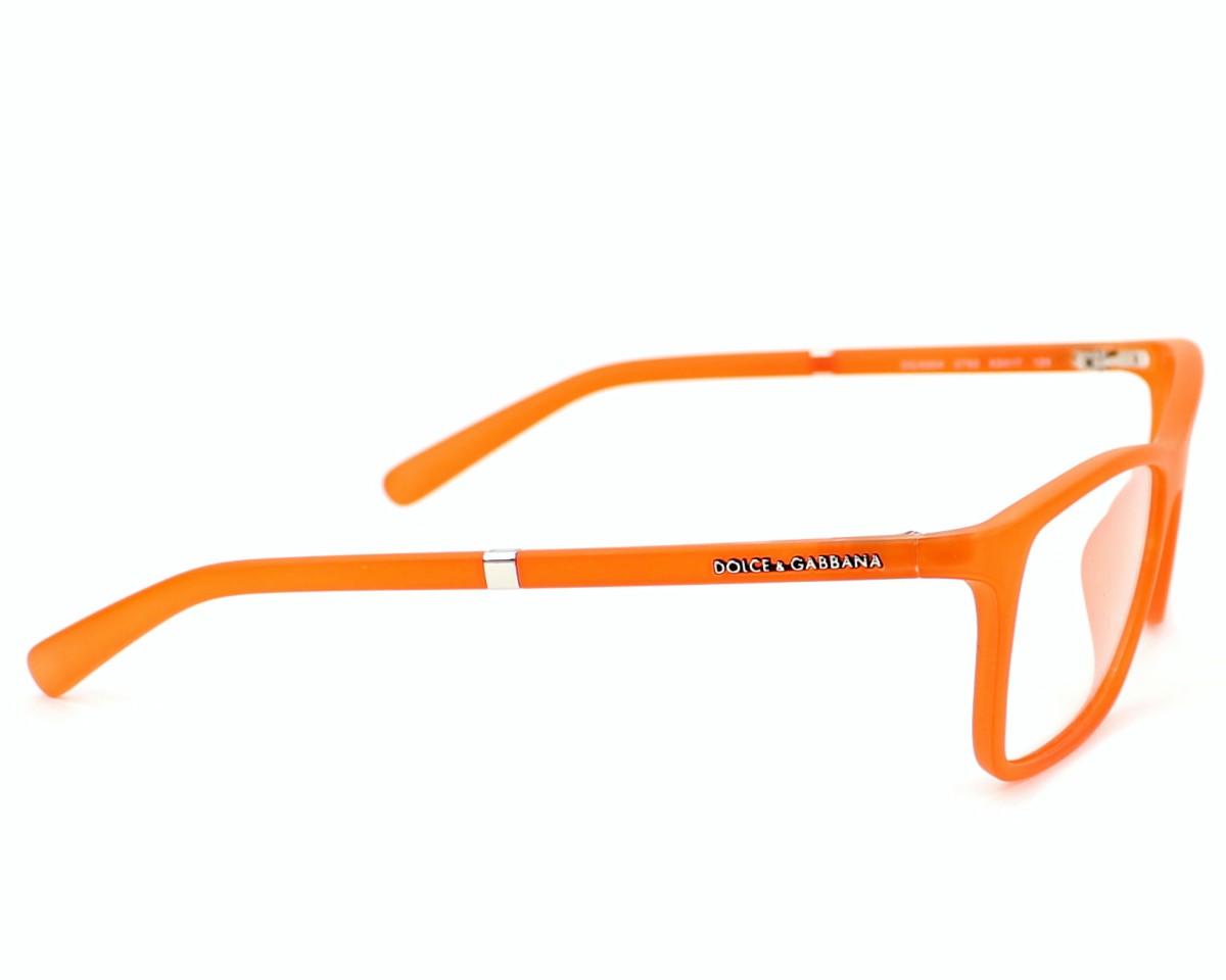846f061d119bd Lunettes de vue Dolce   Gabbana DG-5004 2752 - Orange vue de côté