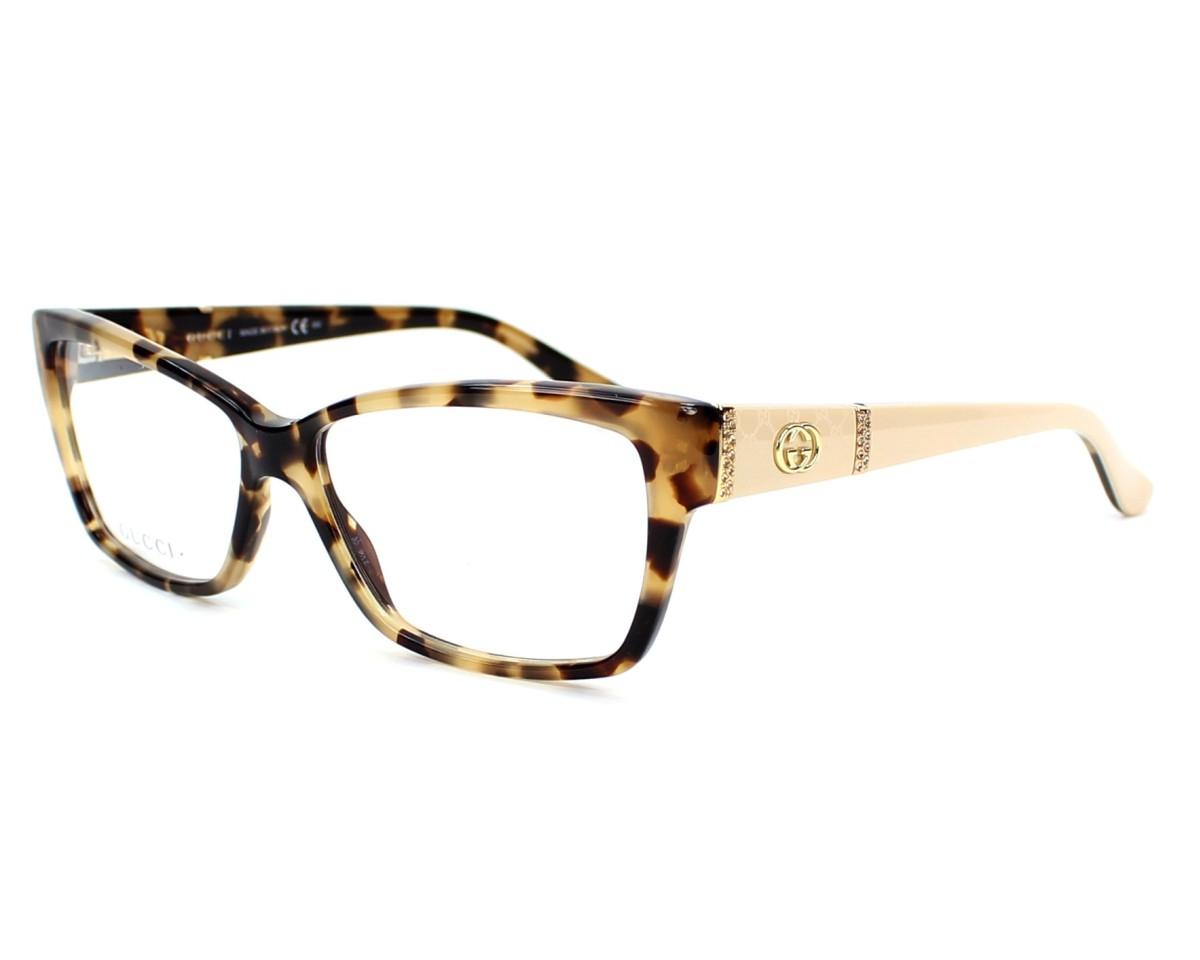 lunettes de vue gucci gg3559 l7b 55 visionet. Black Bedroom Furniture Sets. Home Design Ideas