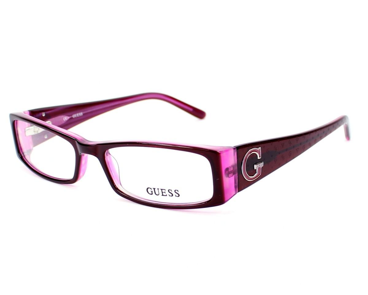 lunettes de vue guess gu1589 bu 52 visionet. Black Bedroom Furniture Sets. Home Design Ideas