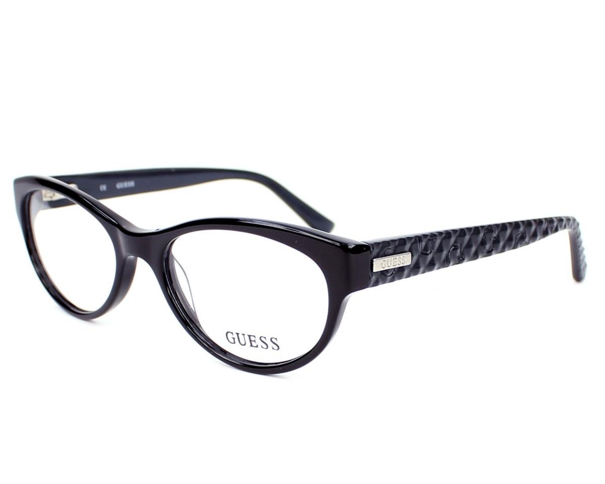 lunettes de vue guess gu 2377 blk noir. Black Bedroom Furniture Sets. Home Design Ideas