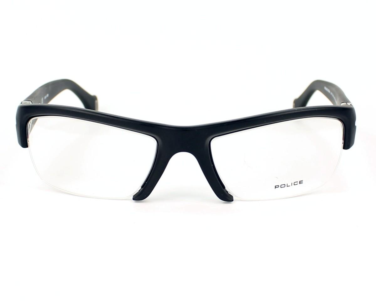 Lunettes de vue Police V-1783 0U28 - Noir vue de face d43c1b2d4000