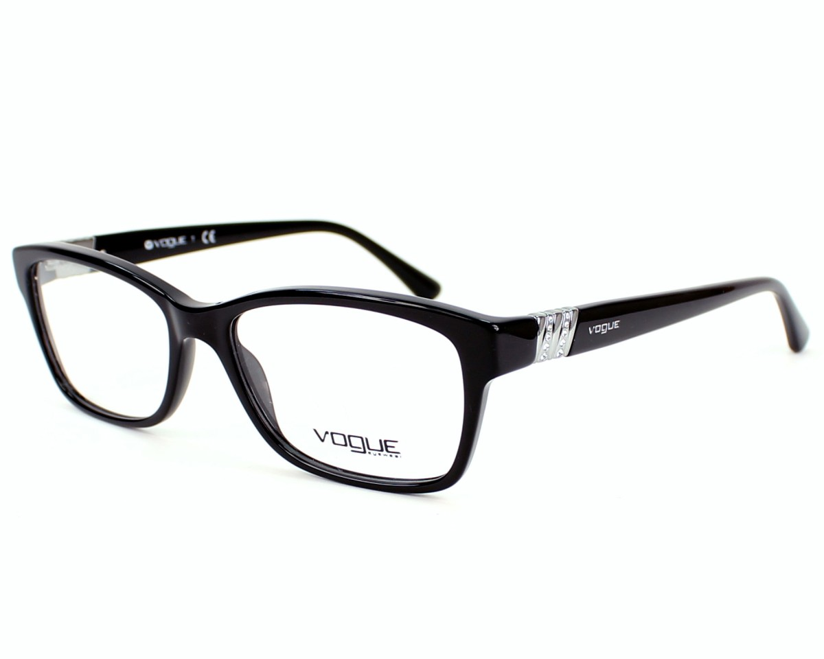 lunettes de vue vogue vo 2765 b w44 53 visionet. Black Bedroom Furniture Sets. Home Design Ideas