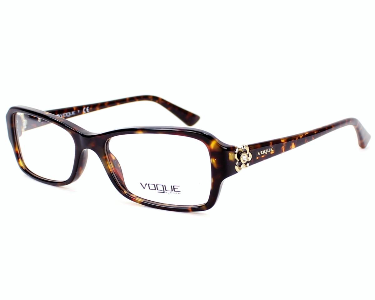 lunettes de vue vogue vo 2836 b w656 havane. Black Bedroom Furniture Sets. Home Design Ideas