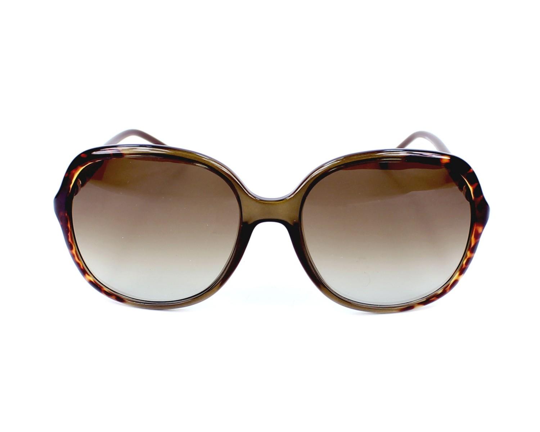 Lunettes de soleil Givenchy SGV-821 07RF - Havane Marron vue de face c2bccbf78f07