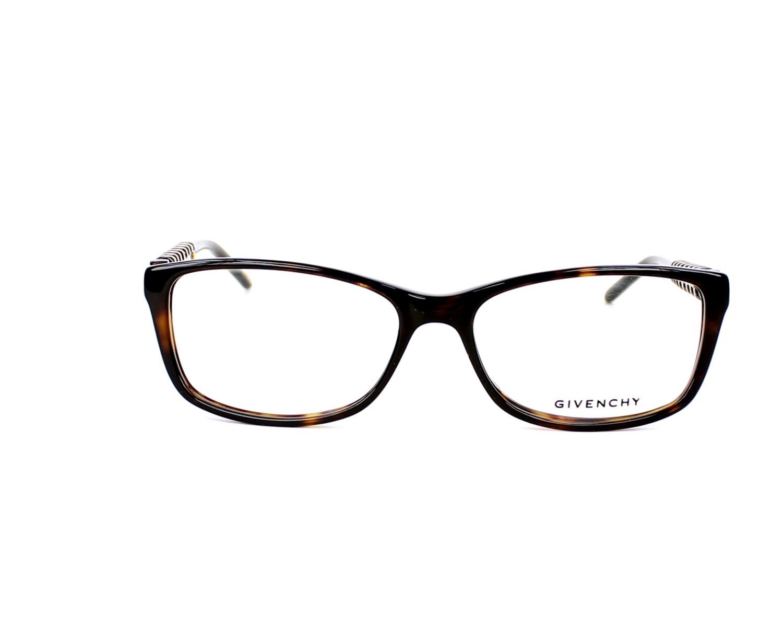 9a9f45e1b8 Lunettes de vue Givenchy VGV-864-N 0722 - Havane Bronze vue de face
