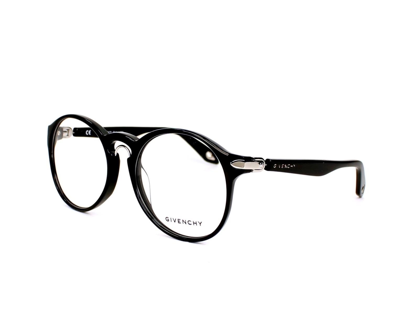Lunettes de vue Givenchy VGV-943-M 0700 - Noir Argent vue de profil 6cd9dcbbf3a0