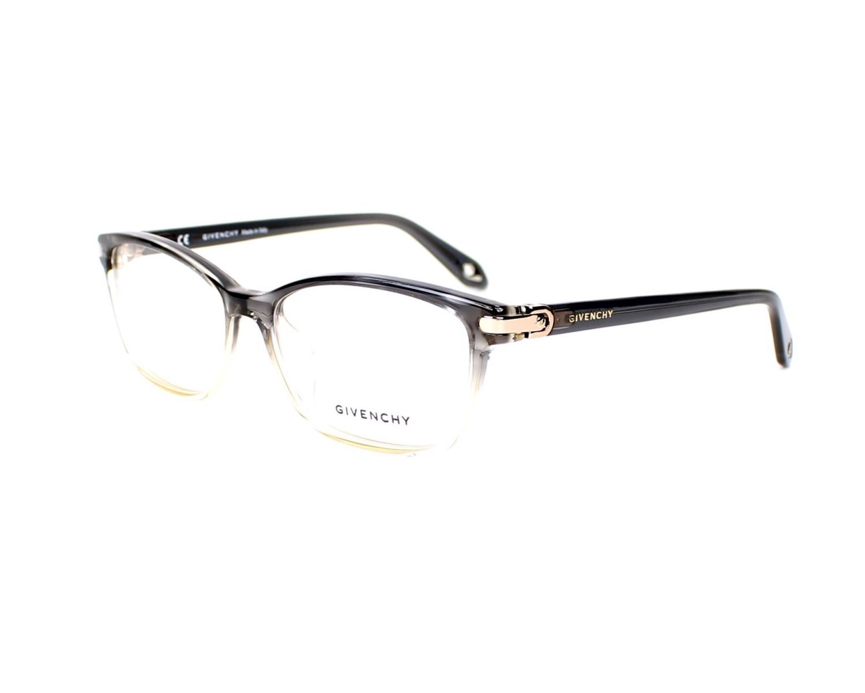 Lunettes de vue Givenchy VGV-945-M 0ANV - Gris Transparent vue de profil 0bcaf246e3d0