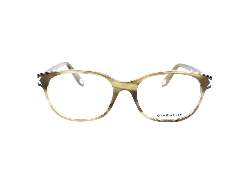 6fd6d66fc21611 Lunettes de vue Givenchy VGV-950 06DA - Kaki vue de face