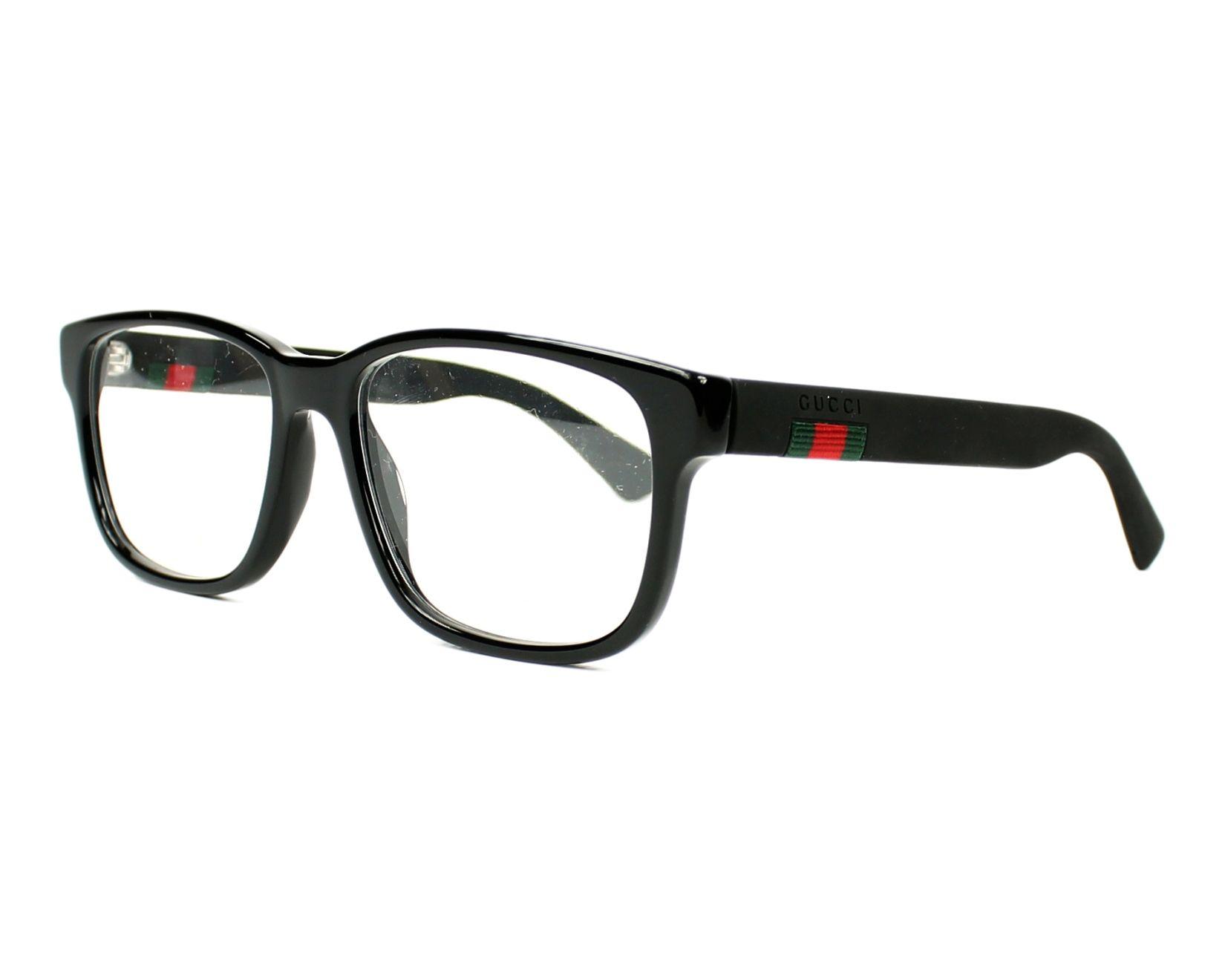 gucci eyeglasses gg 0011 o 005 black visionet. Black Bedroom Furniture Sets. Home Design Ideas