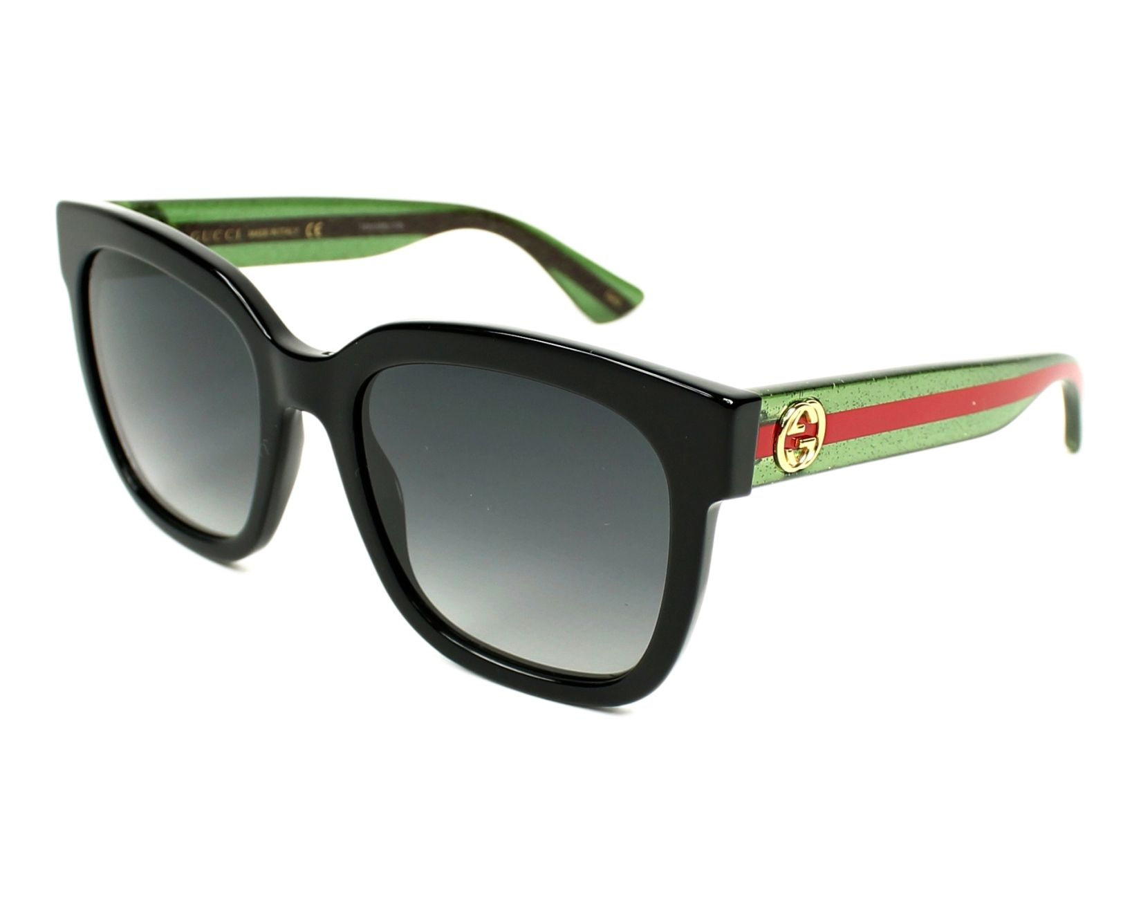 Gucci Sunglasses GG-0034-S 002 Black
