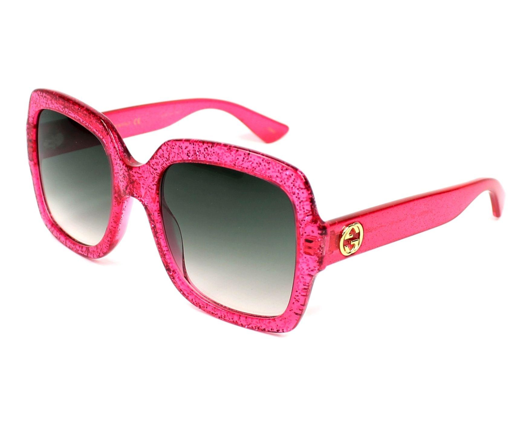 Gucci Sunglasses GG-0036-S 007 Pink - Visionet