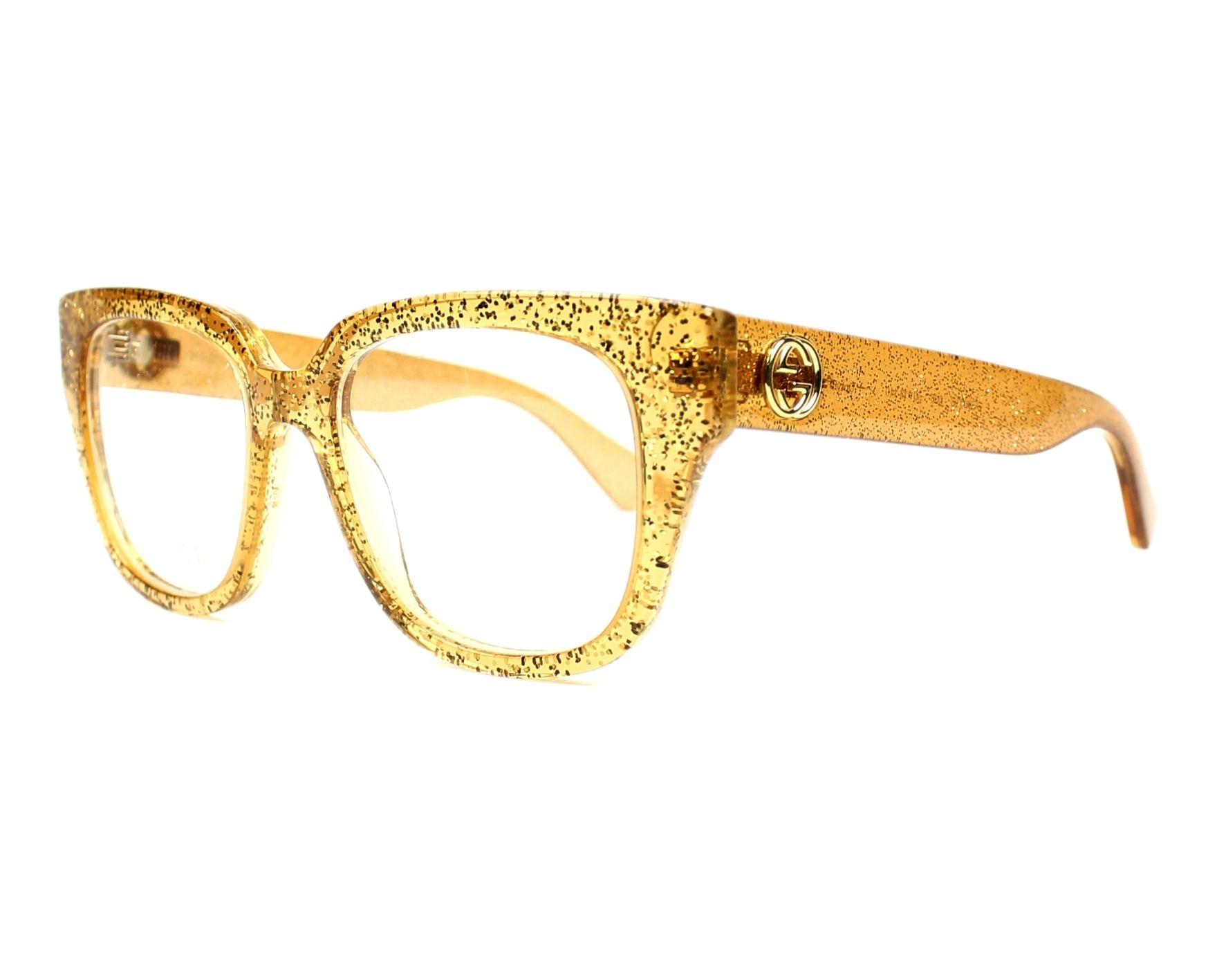 Gold Versace Frames