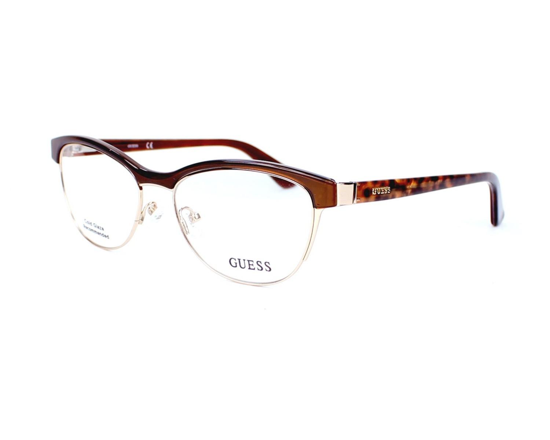 f77a8b910de7dd Guess Lunettes De Vue. acheter des lunettes de vue guess gu 2500 001 ...