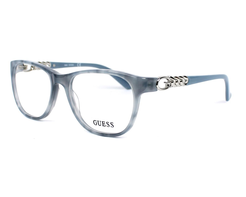 lunettes de vue guess gu 2559 056 gris. Black Bedroom Furniture Sets. Home Design Ideas